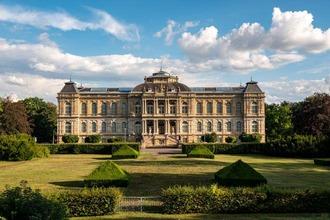 Blick auf das Herzogliches Museum in Gotha
