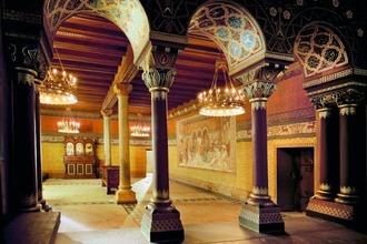 Sängersaal auf der Wartburg