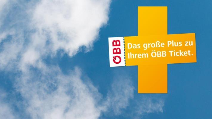 Railtours ÖBB Plus Sujet in Wolkenhimmel