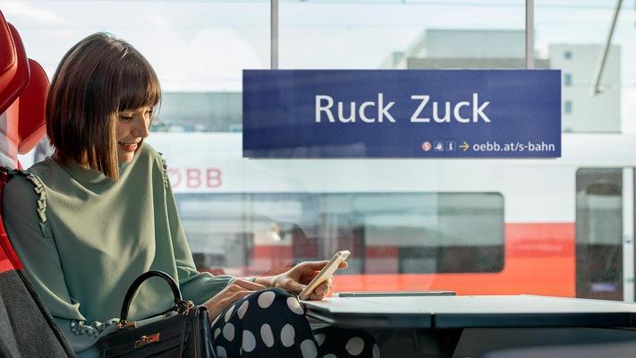 """S-Bahn Sujet """"Ruck Zuck"""""""