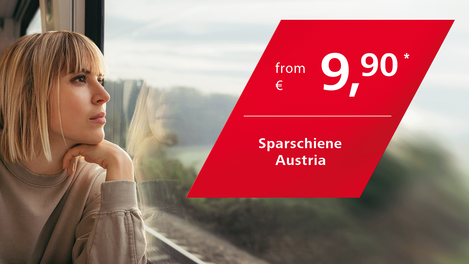 Sparschiene Austria from 9,90 Euro