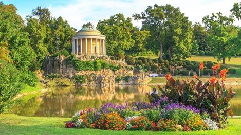 Park im Schloss Esterhazy im Burgenland