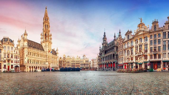 Panorama des Zentrums von Brüssel