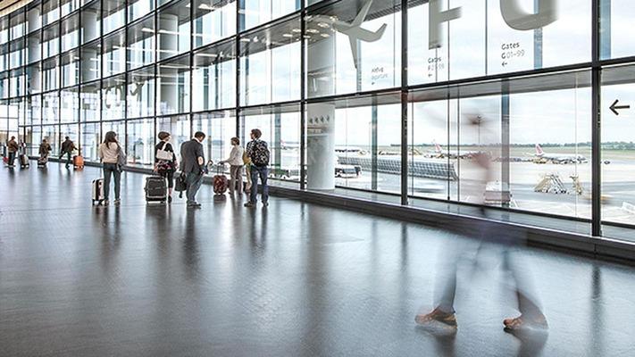 Flughafen Wien Abflughalle