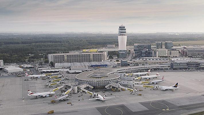 Flughafen Wien Außenansicht