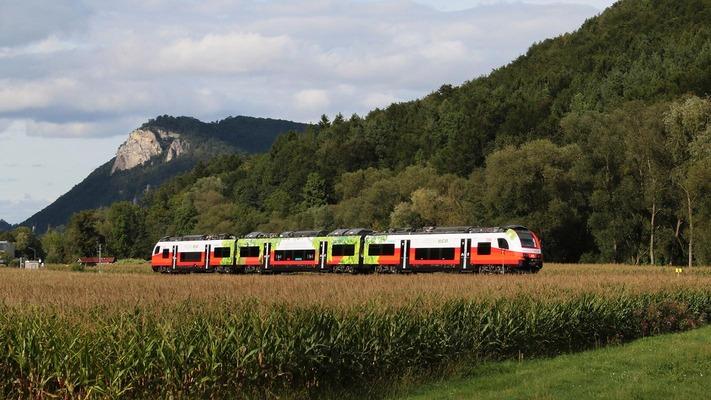 Cityjet on the Aspangbahn